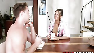 Tara Ashleys MILF cooch penetrated by son dick