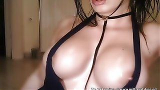 Big sexy oily boobs live on webcam at Milfsexdating Net