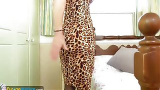 EuropeMaturE Lady Sextasy Showing Off Alone