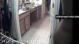 Round ass my ebony step mom on spy camera