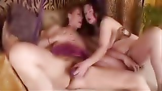 Mature lesbians and a chubby lesbian