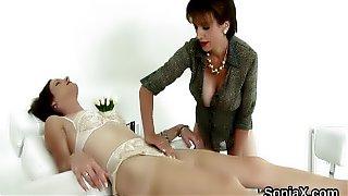 Unfaithful english mature lady sonia showcases h