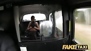 Busty babe fuck with taxi driver