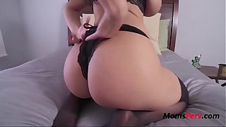 Hot MILF Mother Satisfying Her Providing Son