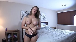 Sex Ed With My Biological Mother Series - I CREAMPIE MY REAL MOM