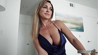Hot Mom Aubrey Black Fucks Husband While Role Playing His Step Daughter