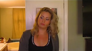 Mom Son Handjob POV Part 1 Coco Vandi
