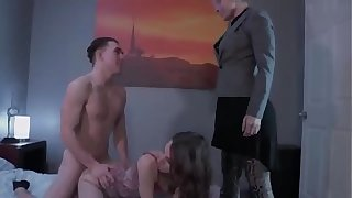 Mom teaches sex to son and daughter