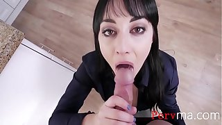Son Day Dreams About Mom's Pussy- Alessandra Snow