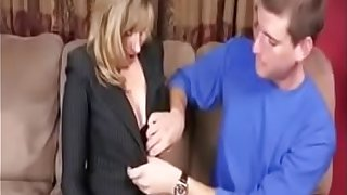 STEPMOMXXXX.COM - Stepmom Sex Education for Her Stepson to Go to College