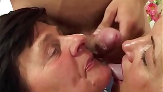 MomsWithBoys - Sexy Blonde MILF Nikki Hunter Intense Hardcore DP