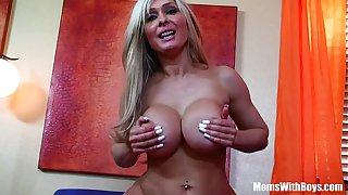 Cock Loving MILF Jenna Cruz With Majestic Boobies Banged