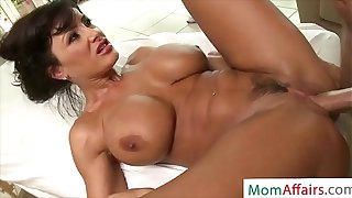 MomAffairs.com - Milf Lisa Ann Get Surprise While Massage