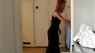 Stepmom Gets To Suck And Fuck Her Stepson's Cock
