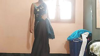 Indian Housewife Tempted Boy Neighbor uncle in bed room