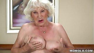 70  granny banged!