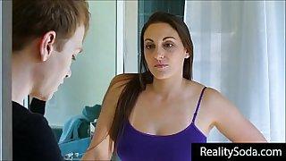 milf mom helps son lose his virginity