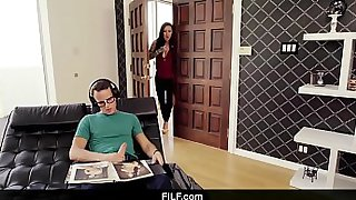 FILF - Hot Step Mom Finds Her Son Masturbating To Her Nudes
