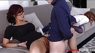 MOM GETS NAUGHTY WITH SON