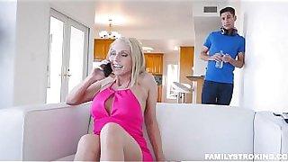Horny Big Boobs Blonde Step Mom Christie Stevens