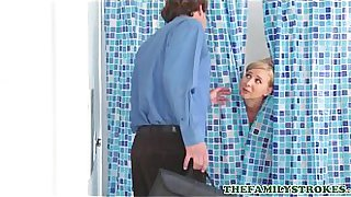 Big Ass Hot Step Mom Alice Chambers Thinks Her Step Son Is His Dad Gets Fucked To Orgasm In Shower