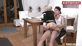 LETSDOEIT - Hot Lusty MILF Mom Vanessa K. Craves For Her Young Stepson Hard Cock