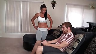 Mother fucks her Son (Taboo roleplay)