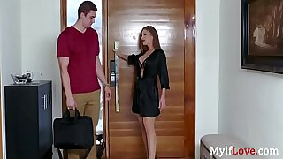 Slutty Mom Will Do Anything For A Cock