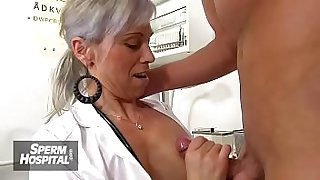 European big tits lady Danielle is dirty doctor