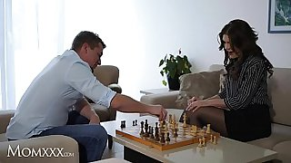MOM.XXX Steve fucks Milf Kitana Lure's pussy and mature asshole and gives her intense anal orgasms