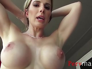 MOM wants me to grope her tits