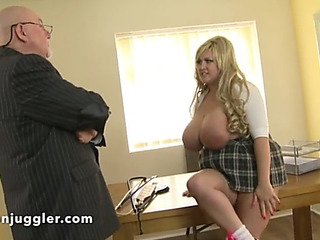 Wicked schoolgirl meets pervy headmaster
