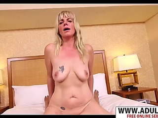 Youthful mother melina receives nailed well touching step son