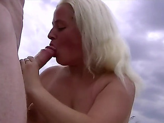 Dilettante outdoor double penetration
