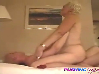Fancy maw riding her son