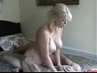 Mommy and son fuck like rabbits